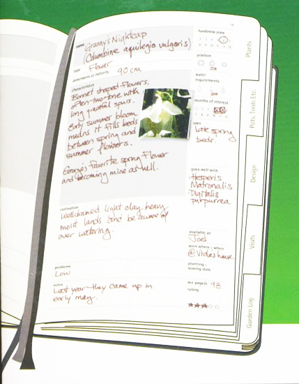 Moleskine Garden Journal