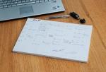 monthly desk planner